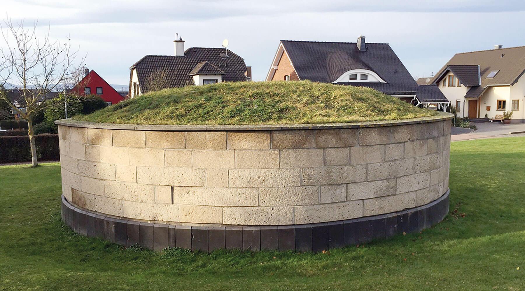 Vulkanpark Römische Grabmäler Der Tumulus in Ochtendung